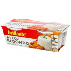 Brillante Vasitos Arroz Redondo