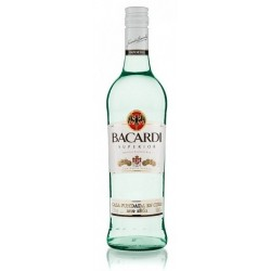 Ron Blanco Bacardí 700 Ml