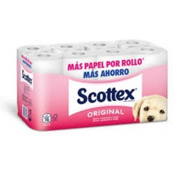 Scottex Papel Higienico Original 24 u.