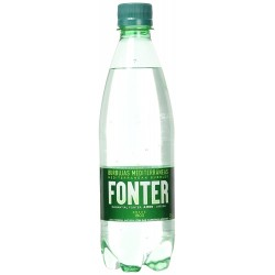 Agua Mineral con Gas Fonter 500 Ml