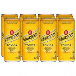 Schweppes Tónica Lata PACK-8