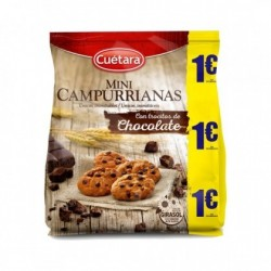 Mini Campurrianas con Chocolate Cuétara 145 Gr