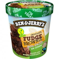 Tarrina de Helado Ben &  Jerry's Chocolate Fudge Brownie 500 ml.