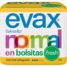 Salvaslip Normal Plegado Fresh Evax 20 Unidades