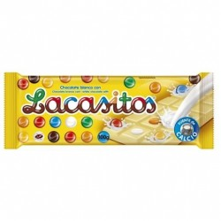 Chocolate Blanco con Lacasitos Lacasitos 75 Gr